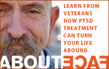 Learn from Veterans How PTSD Treatment can turn your life around.