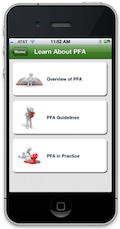 PFA mobile screen image for Learn about PFA