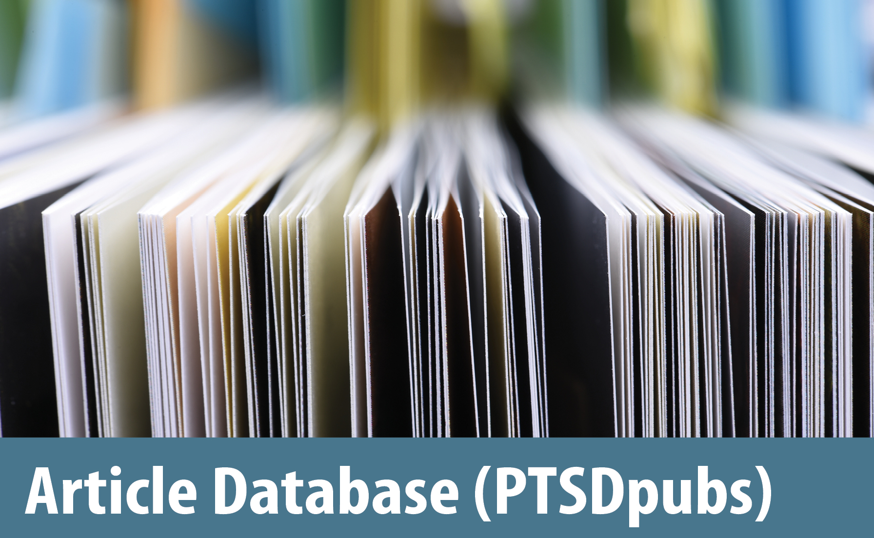 Documents with the words Article Database (PTSDpubs)