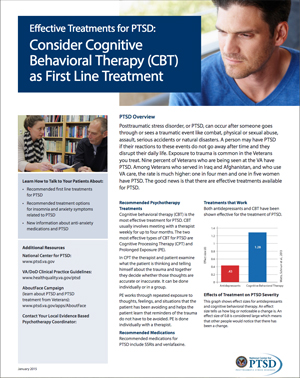 Effective Treatments for PTSD: Cognitive Behavioral Therapy