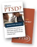 PTSD Tri-fold Card (business card size)